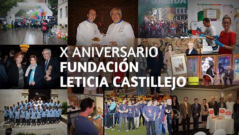 X Aniversario Fundacion Leticia Castillejo